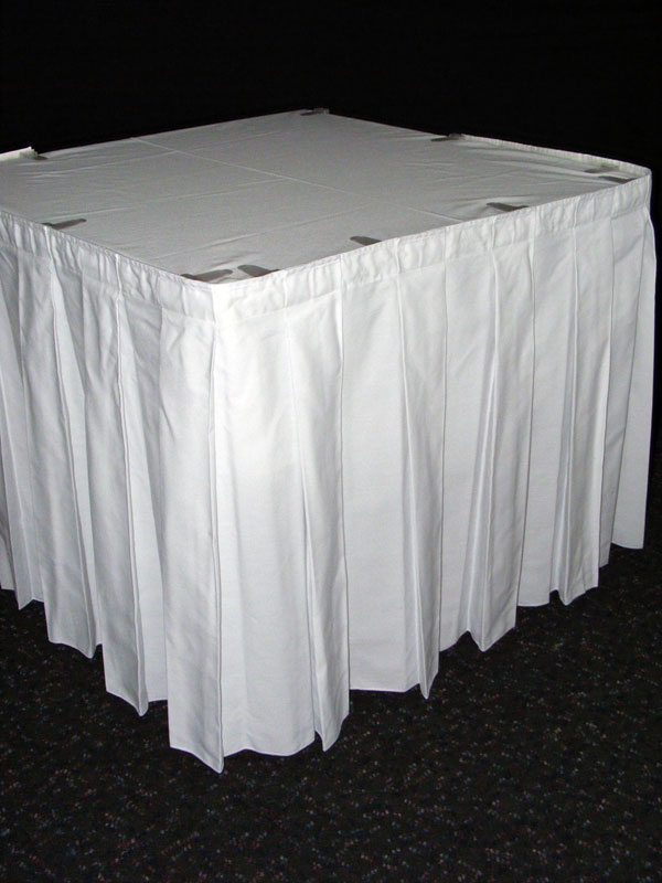 Table Skirt - White